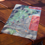 Buy a microfibre map to support our trailwork!